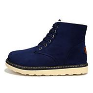 מגפיים גברים של נעליים קז'ואל / ספורט סוויד שחור / כחול / חום / אפור
