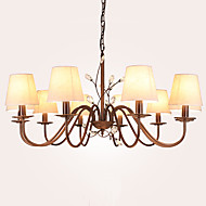 LightMyself  10 Lights Chandelier  Modern/Contemporary Painting Feature for Bedroom / Dining Room