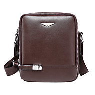 Men Cowhide Formal / Casual / Outdoor / Office & Career Shoulder Bag Brown / Black