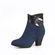Women's Shoes  Heels / Fashion Boots Boots Outdoor / Office & Career / Casual Chunky Heel Black /  &L9