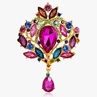 Full Crystal Brooch