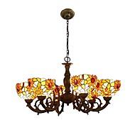 Lustry ,  design Tiffany Ostatní vlastnost for LED návrháři Kov Obývací pokoj Ložnice Jídelna Kuchyň
