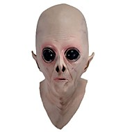 et אימה גומי לטקס מלא מסכות צד יבשתי נוסף זר מסיכת פנים סיליקון מפחיד UFO עבור צעצוע מסיבת ליל כל הקדושים