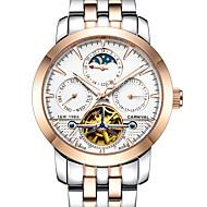 Carnival® Hollow Automatic Mechanical Watch Men watch Men Watch Waterproof Luminous Watches Fashion Leisure Strip Wrist Watch
