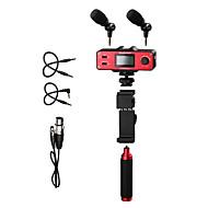 SmartMixer אדום 9V Battery מיקרופון סטודיו