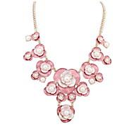 Collier Anniversaire / Mariage / Cadeau / Sorée / Quotidien / Occasion spéciale / Casual Imitation de perleImitation de perle / Alliage /