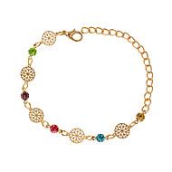 Bracelet Chaînes & Bracelets Alliage Forme Ronde Mode Bijoux Cadeau Doré / Argent,1pc