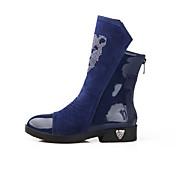 Women's Boots Winter Platform PU Casual Others Black / Blue Walking