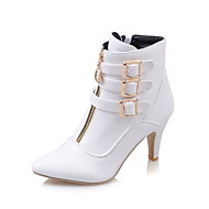 Women's Boots   Heels / Fashion Boots / Bootie Leatherette Outdoor / Office & Career / Casual Chunky Heel Others