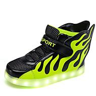 לבנים-נעלי ספורט-סינטתי-נוחות / סגור-כחול / ירוק / אדום-שטח / קז'ואל / ספורט-עקב שטוח