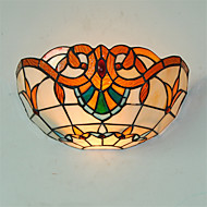 AC 100-240 Max 60W E26/E27 Tradisjonell/ Klassisk / Rustikk / Tiffany / Retro / Vintage Andre Trekk for Mini Stil,Atmosfærelys Vegglamper