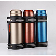 304 Copper Car Insulation Pot Genuine Stainless Steel Vacuum Flask Thermos Travel Kettle May Be Set Logo
