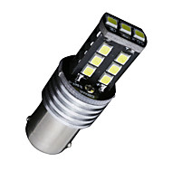 2PCS 1156 P21W BA15S LED Canbus 15SMD 2835 Backup Reverse Tail Brake Lights DC 12V-24V