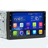 android intelligent navigation / integreret maskine / 7 tommer kapacitiv skærm / quad core / bluetooth / stemme
