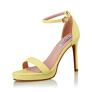 Women's Shoes Leather Heels / Sandals / Styles Sandals Wedding / Party & Evening / Dress Stiletto Heel