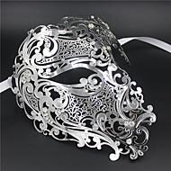Signature Phantom Of The Opera Half Face Laser Cut  Mask Metal5002A4