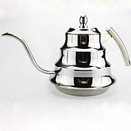 Narrow Stainless Steel Pot of Coffee Pot Teapot