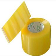 valmistajat suora nauha läpinäkyvä teippi tiivistenauhan painettu logo ilmainen toimitus tukku 45 * 100Y