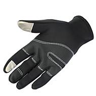 Touch- Handschuhe / Ski-Handschuhe Winterhandschuhe Alles warm halten Skifahren / Snowboarding Weiß / Schwarz  Leinwand M / L / XL / S