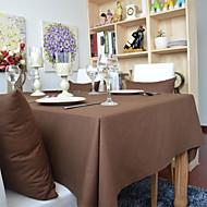 100% Coton Rectangulaire Nappes de table