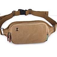 Unisex Leinwand Alltag Hüfttasche
