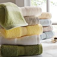 עיבוי צבע כותנת מגבת טהור של מגבת רכה מבוגרת