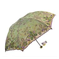 Vert Ombrelle pliable Ombrelle Textile Voyage / Lady