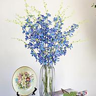 Hi-Q 1Pc Decorative Flowers Orchids Flower Wedding Home Table Decoration Artificial Flowers