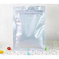 ren aluminium taske fødevareemballage tepose lynlås forsegle posen mad pose flad