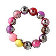 Bracelet Strand Bracelet Alloy Round Fashion Daily Jewelry Gift Assorted Color,1pc