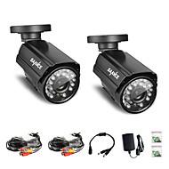 annke® 2pcs 800tvl ir schneiden 24IR 960H Hause Sicherheits-Überwachung CCTV-Kameras