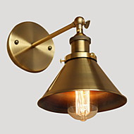 AC 100-240 40 E26/E27 Рустикальный Золотой Особенность for Лампа входит в комплект,Рассеянный Настенные светильники настенный светильник