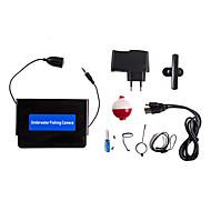 30M Fish Finder Underwater Fishing Camera  4.3 LCD Monitor 1000TVL CAM 8pcs Infrared LED Sunvisor DVR Function721D-30