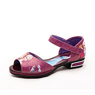 djevojka sandale za proljeće / ljeto sandale pu povremeni ravna peta životinja print plava / roza / ljubičasta / crvena drugima