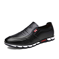 Men's Bussiness Leather Shoes Breathable Office Casual Leather Oxfords