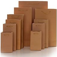 Kraft papir poser poser produsenter skreddersydd engros tilpasset gavepose emballasje bag sted