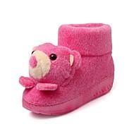 Women's Slippers & Flip-Flops Fall / Winter Comfort / Round Toe Fleece Casual Wedge Heel Others Blue / Purple / Red /