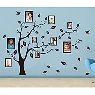 Botanisch / Stillleben / Mode / Formen Wand-Sticker Flugzeug-Wand Sticker Dekorative Wand Sticker / Foto Sticker,PVC Stoff WaschbarHaus