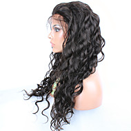 evawigs cabelo humano sem cola perucas onda cabelo virgem peruca dianteira do laço Espanhol onda perucas de cabelo humano para mulheres de