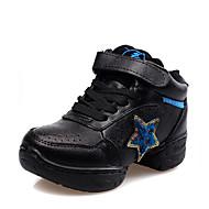 Na míru-Dětské-Taneční boty-Jazz / Taneční tenisky-Kůže-Kačenka-Černá