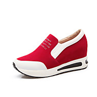 Women's Sneakers Spring / Fall Wedges / Platform / Comfort Leatherette Outdoor / Athletic / Red Walking