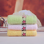 Yukang 1pc Wash Towel Pack, Pure-Color Design 100% Cotton Wash Towel