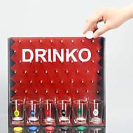 Európai népszerű sorozat ivás szórakoztató csepp kerek játék borozó játékok