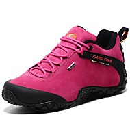 Women's Athletic Shoes Spring / Summer / Fall / Winter Comfort Suede Outdoor / Athletic / Casual Flat Heel Red Hiking