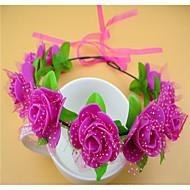 Women's Resin Headpiece-Wedding / Casual Wreaths 1 Piece Flower 50cm