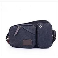 Herren Leinwand Alltag Hüfttasche