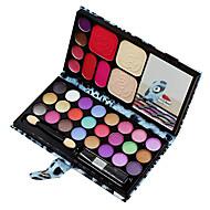 33 Base+Sombra para Olhos+Gloss Labial+Espelho / Esponja de Pó de Arroz/Esponja de Maquiagem / Pincéis de Maquiagem SecosOlhos / Rosto /