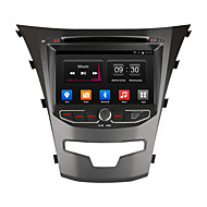 "Ownice 7"" HD 1024*600 Quad Core Android 4.4 Car DVD Player For SsangYong Korando GPS radio"