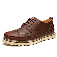 Westland® Men's Oxfords/BroguesStyle Comfort Cowhide/Leather/Nappa Leather Office & Career/Casual/Black/Brown