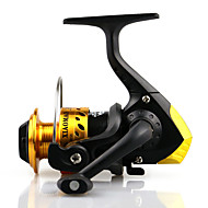 5.1:1 Mini Fishing Reel 3BB Small 200 Plastic Spinning Fishing Carp Fishing Wheel Spinning Ice Fishing Reel